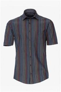 Gestreept korte mouw overhemd van Casamoda