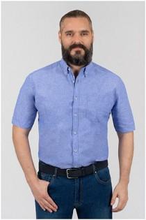 Uni linnen korte mouw overhemd van Armada