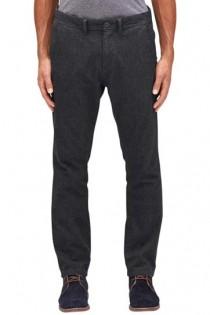 Elastische black denim jeans van S.Oliver.