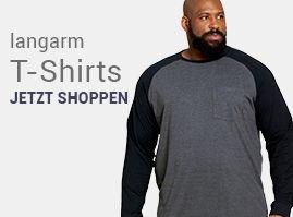 Übergrößen T-Shirts für Herren