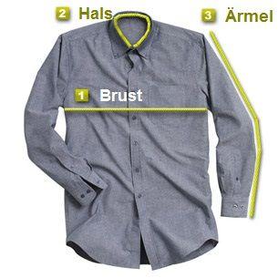 Berechnen Sie Ihre Oberhemden-Größe
